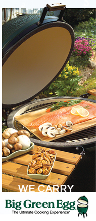 We Carry Big Green Egg - The Ultimate Cooking Experience